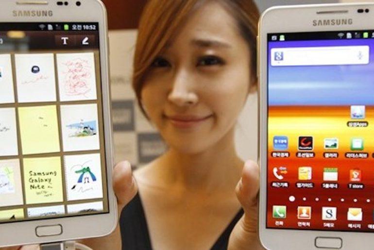 La course à la 5G entre les coréens et Verizon.