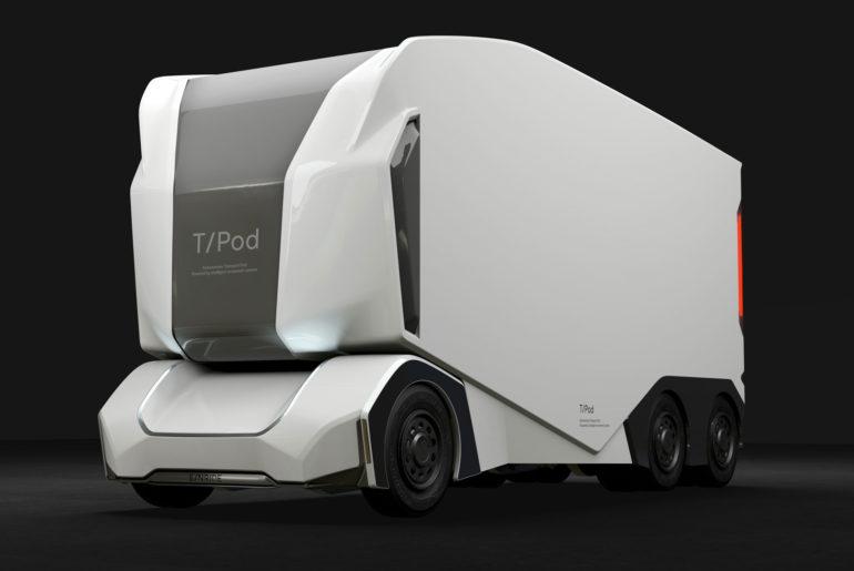 Einride T-Pod camion autonome