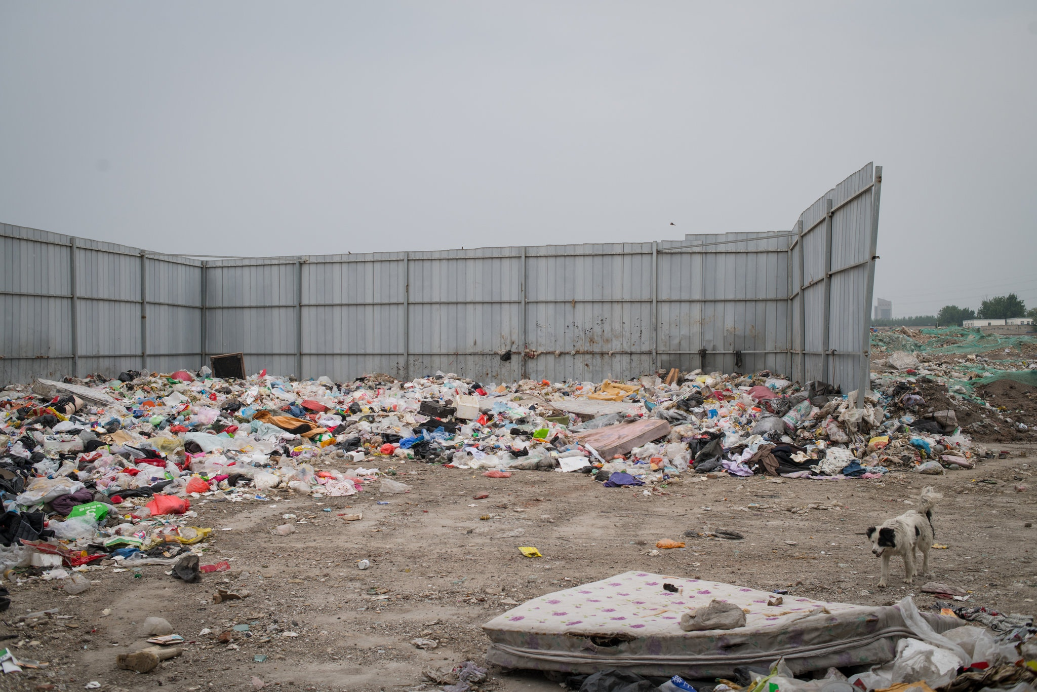 La Chine n'arrive pas à gérer ses déchets plastiques.