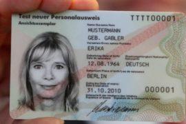 Carte d'identité Allemande