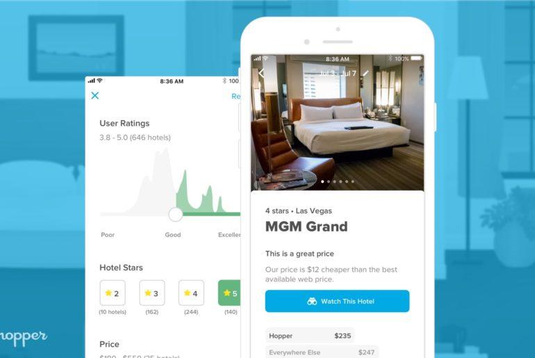 Hopper : l'app s'attaque à la prédiction du prix d'une chambre d'hôtel