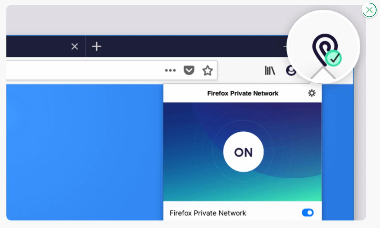 Fonction VPN Firefox