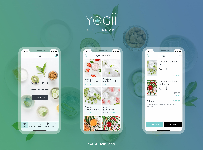template app shopping