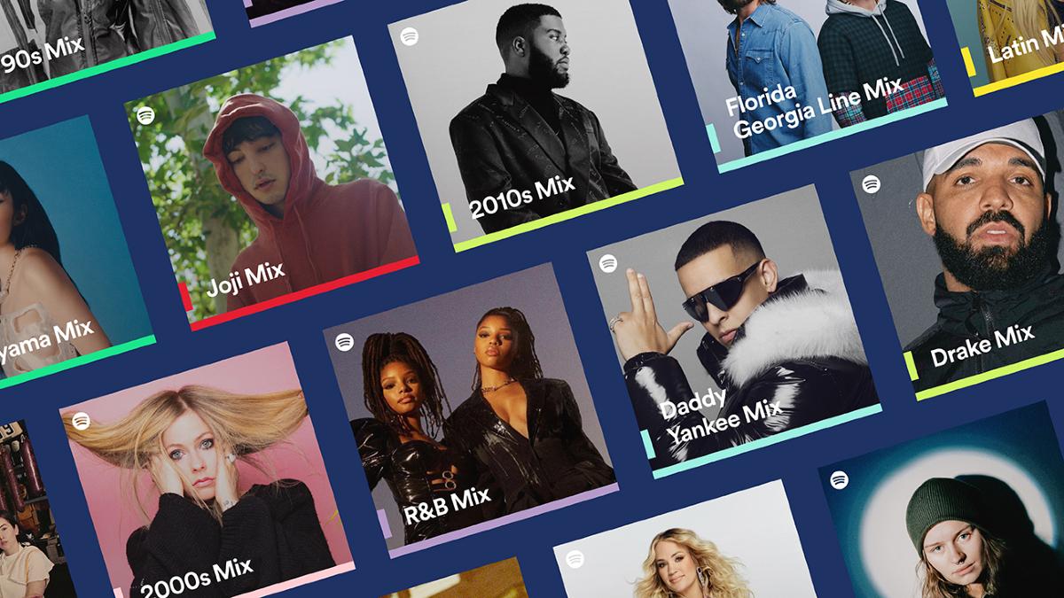 Spotify Mixes la nouvelle fonctionnalité de Spotify est désormais accessible.